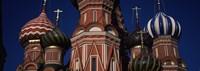 "Low angle view of a church, St. Basil's Cathedral, Red Square, Moscow, Russia by Panoramic Images - 34"" x 12"", FulcrumGallery.com brand"