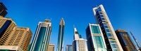 """Low angle view of buildings, Dubai, United Arab Emirates by Panoramic Images - 33"""" x 12"""""""