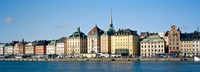 """Buildings at the waterfront, Gamla Stan, Stockholm, Sweden by Panoramic Images - 34"""" x 12"""" - $34.99"""
