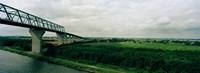 "Cantilever bridge across Kiel Canal, Kiel, Schleswig-Holstein, Germany by Panoramic Images - 33"" x 12"""