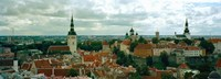 """Old Town, Tallinn, Estonia by Panoramic Images - 34"""" x 12"""", FulcrumGallery.com brand"""