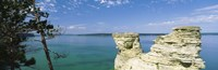 "Miner's Castle, Pictured Rocks National Lakeshore, Lake Superior, Munising, Upper Peninsula, Michigan, USA by Panoramic Images - 37"" x 12"""