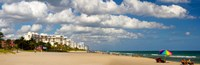"""Lauderdale Beach, Florida by Panoramic Images - 37"""" x 12"""""""