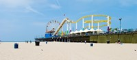 Pacific park, Santa Monica Pier, Santa Monica, Los Angeles County, California, USA Fine Art Print