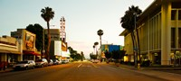 """Culver City, Los Angeles County, California, USA by Panoramic Images - 26"""" x 12"""""""