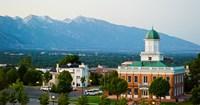 Salt Lake City Council Hall, Capitol Hill, Salt Lake City, Utah, USA Fine Art Print