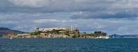 "Alcatraz Island, San Francisco Bay, San Francisco, California by Panoramic Images - 32"" x 12"""