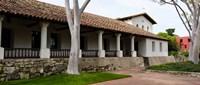 "Church, Mission San Luis Obispo, San Luis Obispo County, California, USA by Panoramic Images - 28"" x 12"""