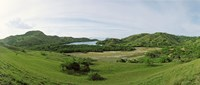 "Island, Rinca Island, Indonesia by Panoramic Images - 28"" x 12"""