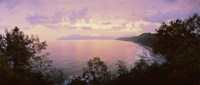 """Coastline, Flores Island, Indonesia by Panoramic Images - 28"""" x 12"""""""