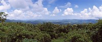 """Clouds over mountains, Flores Island, Indonesia by Panoramic Images - 29"""" x 12"""", FulcrumGallery.com brand"""
