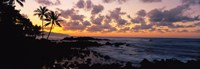 """Sunset North Shore, Oahu, Hawaii by Panoramic Images - 35"""" x 12"""""""