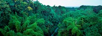 """Aerial View of Mauritius Island by Panoramic Images - 33"""" x 12"""""""