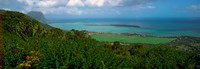 """Island in the Indian Ocean, Mauritius Island, Mauritius by Panoramic Images - 35"""" x 12"""", FulcrumGallery.com brand"""