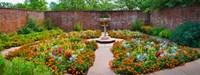 """Latham Memorial Garden at Tryon Palace, New Bern, North Carolina, USA by Panoramic Images - 32"""" x 12"""""""