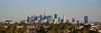 """Downtown Los Angeles, City of Los Angeles, California, USA by Panoramic Images - 36"""" x 12"""""""