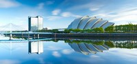 """Scottish Exhibition and Conference Centre, River Clyde, Glasgow, Scotland by Panoramic Images - 26"""" x 12"""""""