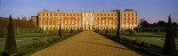 """Facade of the palace, Hampton Court, Richmond-Upon-Thames, London, England by Panoramic Images - 38"""" x 12"""""""