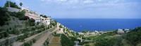 "Small coastal village, Deia, Majorca, Balearic Islands, Spain by Panoramic Images - 36"" x 12"" - $34.99"