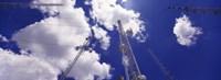 "Low angle view of radio antennas, Tucson Mountain Park, Tucson, Arizona, USA by Panoramic Images - 33"" x 12"", FulcrumGallery.com brand"