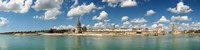 """Three towers at the port of La Rochelle, Charente-Maritime, Poitou-Charentes, France by Panoramic Images - 48"""" x 12"""""""