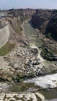 Ruins Along a River Lima Peru