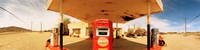 """Closed gas station, Route 66, USA by Panoramic Images - 48"""" x 12"""""""