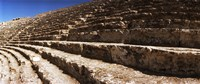 "Steps of the theatre in the ruins of Hierapolis, Pamukkale, Denizli Province, Turkey by Panoramic Images - 29"" x 12"""
