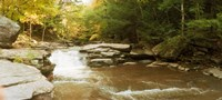 """Kaaterskill Falls stream, New York State by Panoramic Images - 27"""" x 12"""""""
