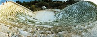 """Ancient antique theater in Kas, Antalya Province, Turkey by Panoramic Images - 31"""" x 12"""""""