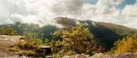 """Clouds over mountain, Catskill Mountains, New York State by Panoramic Images - 28"""" x 12"""", FulcrumGallery.com brand"""