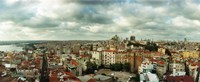 """City view, Istanbul, Turkey by Panoramic Images - 29"""" x 12"""""""