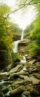 """Kaaterskill Falls in autumn, New York State by Panoramic Images - 12"""" x 29"""""""