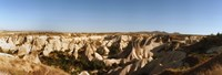 "Rocky terrain in Cappadocia, Turkey by Panoramic Images - 35"" x 12"""