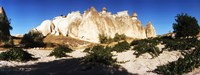 "Rock formations in Cappadocia, Turkey by Panoramic Images - 32"" x 12"""