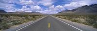 Road passing through a desert, Death Valley, California, USA Fine Art Print