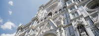 """Facade of Duomo Santa Maria Del Fiore, Florence, Tuscany, Italy by Panoramic Images - 33"""" x 12"""""""