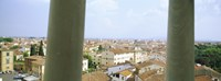 """City viewed from the Leaning Tower Of Pisa, Piazza Dei Miracoli, Pisa, Tuscany, Italy by Panoramic Images - 32"""" x 12"""""""