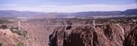 "Royal Gorge Suspension Bridge, Colorado, USA by Panoramic Images - 35"" x 12"", FulcrumGallery.com brand"