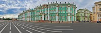Parade Ground in front of a museum, Winter Palace, State Hermitage Museum, Palace Square, St. Petersburg, Russia Fine Art Print