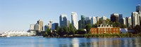 """City at the waterfront, Vancouver, British Columbia, Canada 2013 by Panoramic Images, 2013 - 36"""" x 12"""""""