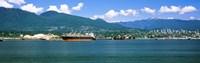"Shipyard at Vancouver, British Columbia, Canada by Panoramic Images - 38"" x 12"""