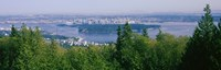 """Vancouver viewed from from a far, British Columbia, Canada by Panoramic Images - 38"""" x 12"""""""