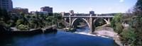 "Monroe Street Bridge, Spokane, Washington State by Panoramic Images - 37"" x 12"""