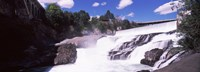 "Spokane Falls at Spokane River, Spokane, Washington State, USA by Panoramic Images - 33"" x 12"""