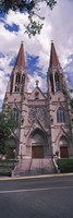 Facade of the Cathedral of St. Helena, Helena, Montana, USA Fine Art Print