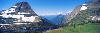 """Bearhat Mountain and Hidden Lake, US Glacier National Park, Montana, USA by Panoramic Images - 36"""" x 12"""""""