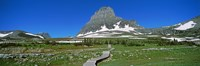 "Hidden Lake Nature Trail at US Glacier National Park, Montana, USA by Panoramic Images - 36"" x 12"""