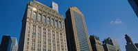 "Buildings in a downtown district, New York City, New York State, USA by Panoramic Images - 32"" x 12"""