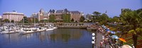"""Inner Harbor, Victoria, Vancouver Island, British Columbia, Canada by Panoramic Images - 36"""" x 12"""""""